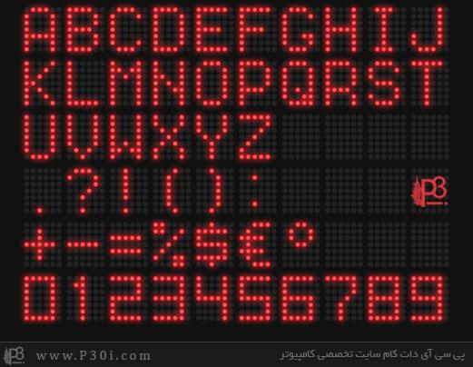 LED-Font