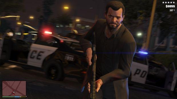 RSG GTAV Screenshot HUD 002 620x بزرگ ترین سرقت تاریخ، این بار با سه نفر | نقد و بررسی Grand Theft Auto V