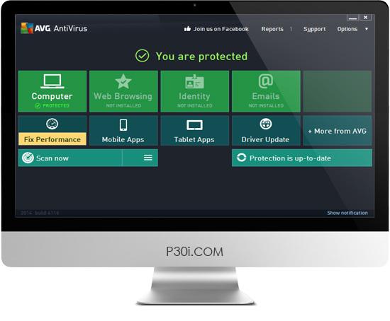 AVG Anti-Virus Pro 2014 14.0 Build 4744