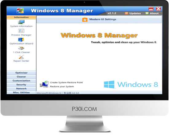 Windows 8 Manager v2.1.2