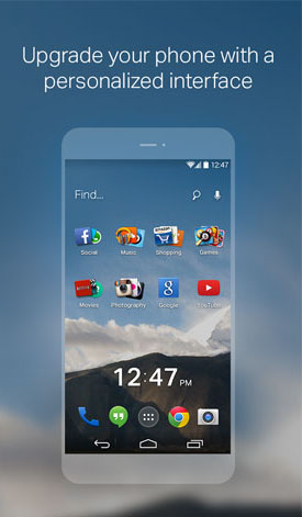EverythingMe Launcher c