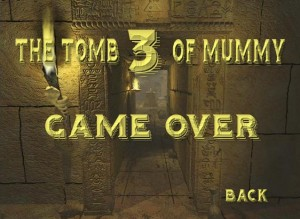 The tomb of mummy 3 b