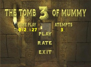 The tomb of mummy 3 c