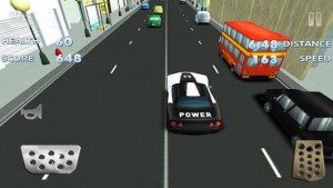 Toon Traffic Speed Racing 1
