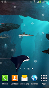 ۳D Sharks Live Wallpaper 1