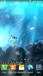 ۳D Sharks Live Wallpaper 2