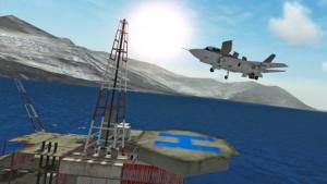 f18 carrier landing 2 d
